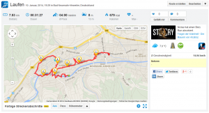 Screenshot der Runtastic-Webseite