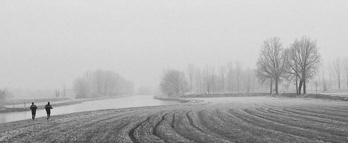 Der recht milde Winter begünstigte das Lauftraining in diesem Jahr